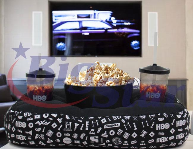 Almofada / Kit com balde de pipoca e copos BIG 2572