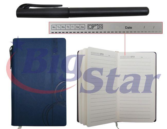 Bloco de anotações com caneta BIG 2267