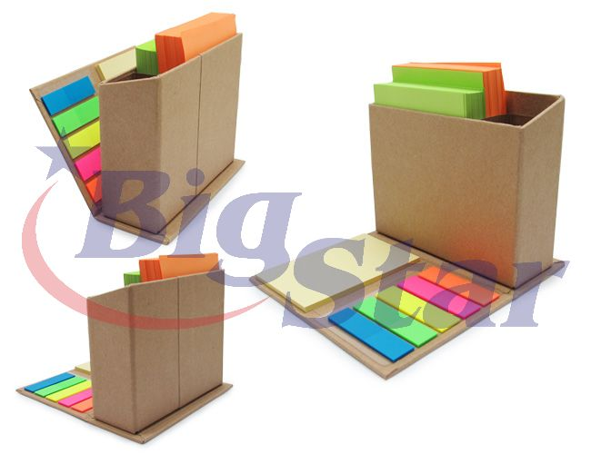 Porta canetas com bloco e post it BIG 2078