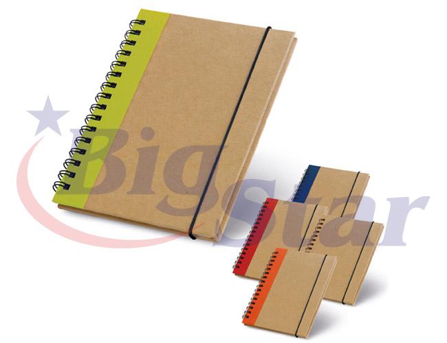 Bloco de anotações / Caderno ecológico BIG 2657