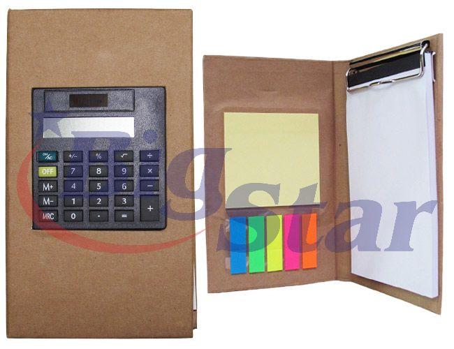 Bloco de anotações com calculadora BIG 1911 B