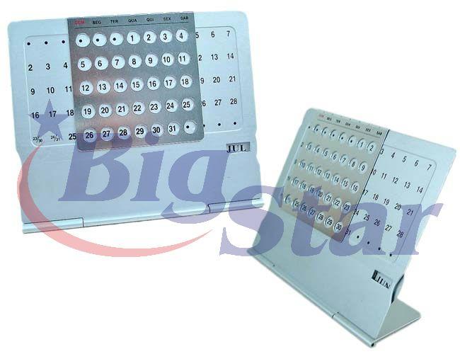 Calendário permanente de mesa BIG 1161