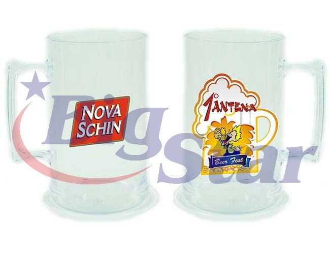 Caneca de Chopp PS 100% cristal BIG 1356