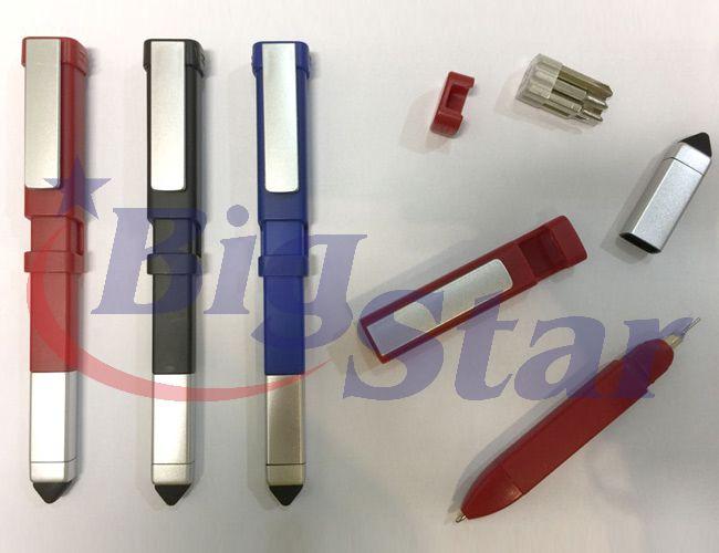 Caneta com kit ferramenta e ponta touch BIG 2284