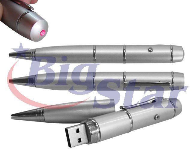 Caneta pen drive com laser BIG 312 B