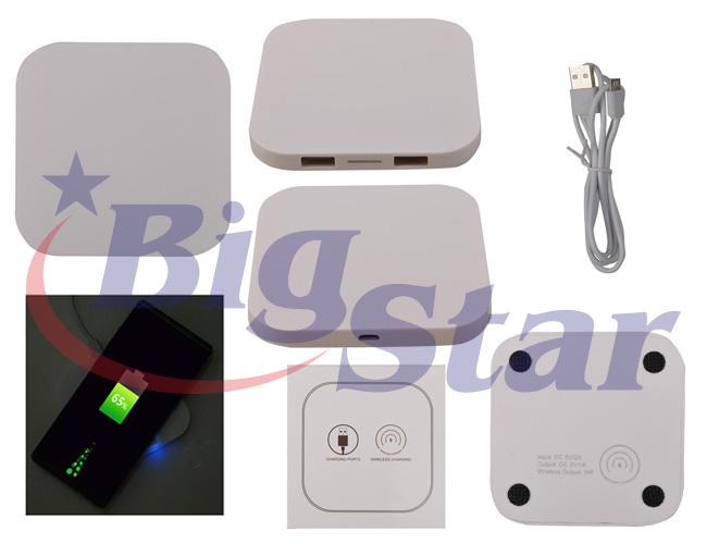 Carregador Power Bank Wireless BIG 2601