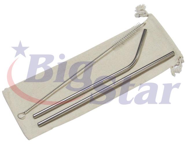 Canudo reutilizável com escova BIG 2653 A