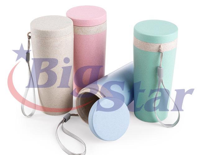Copo em fibra de bambu 350ml BIG 2737