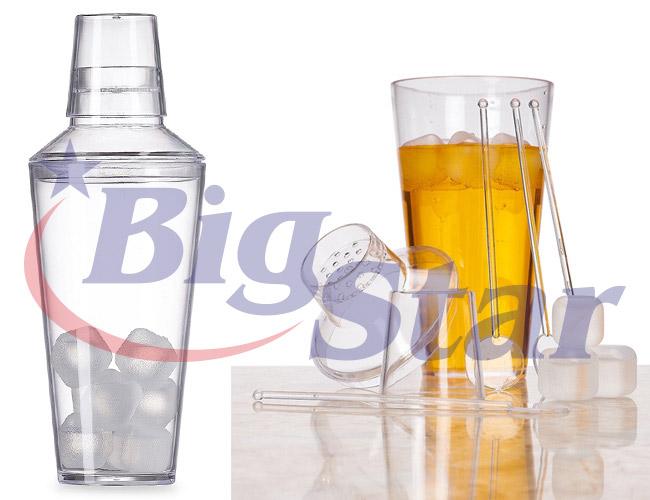 Coqueteleira com gelo e misturadores BIG 2306