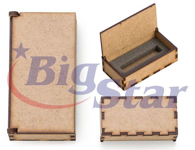 Embalagem para pen drive em MDF BIG 2323 B