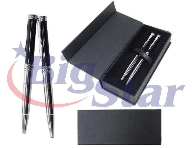 Estojo com caneta e lapiseira BIG 2009