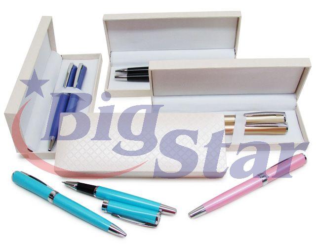 Estojo com canetas de metal BIG 2106