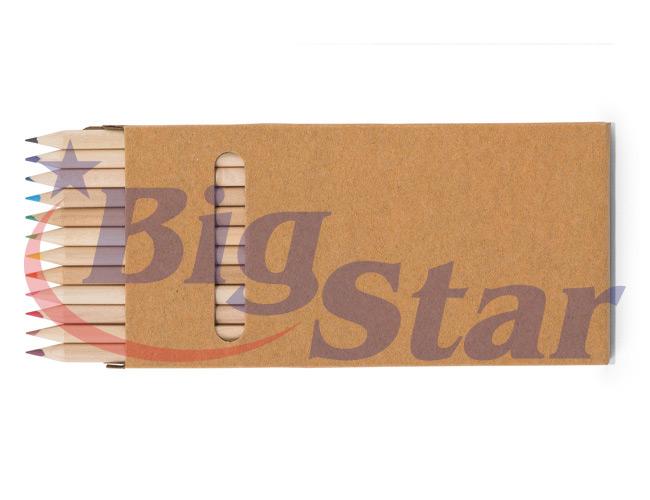 Kit com 12 lápis de cor BIG 2650 A