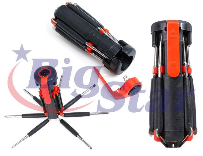 Kit Ferramentas 7 Chaves com Lanterna BIG 2610