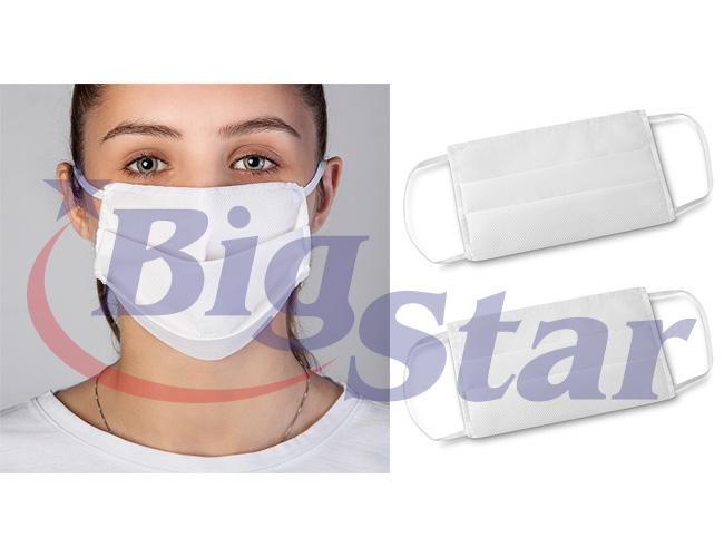 Máscara de proteção em TNT com tripla camada BIG 2752 C