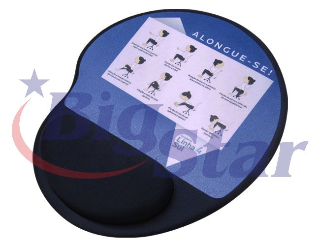 Mouse pad ergonômico BIG 1782 B