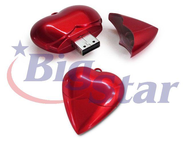 Pen drive coração BIG 314 B