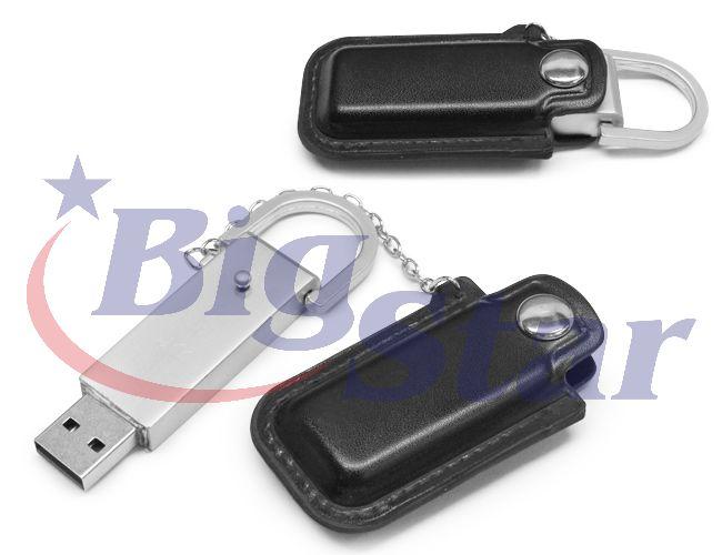 Pen drive de metal e couro BIG 315 D