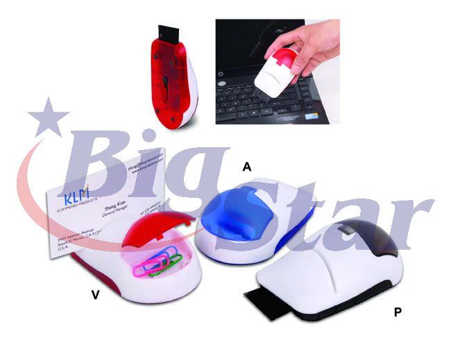 Porta cartão, Clips e Limpador de teclado BIG 1488