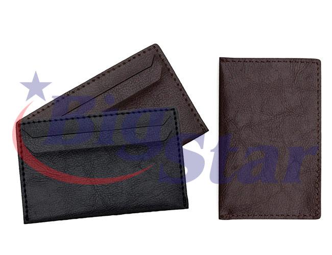 Porta cartão em couro sintético BIG 2368