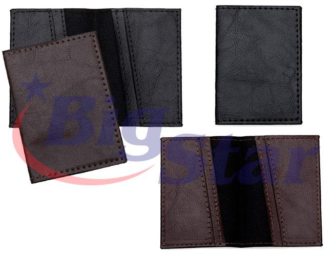Porta cartão em couro sintético BIG 2370