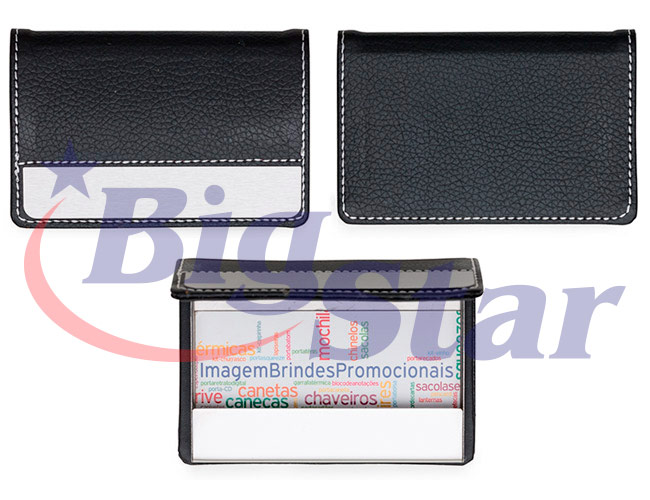Porta cartão em couro sintético BIG 2373