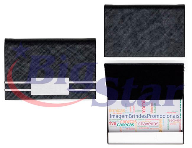 Porta cartão em couro sintético BIG 2374