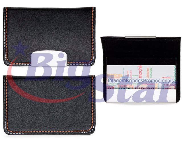 Porta cartão em couro sintético BIG 2375