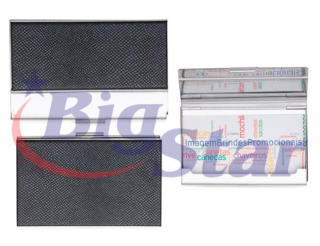 Porta cartão em couro sintético BIG 2378