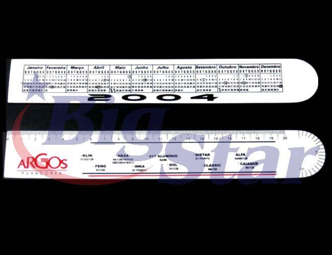 Régua ferragista PVC 20cm BIG 228