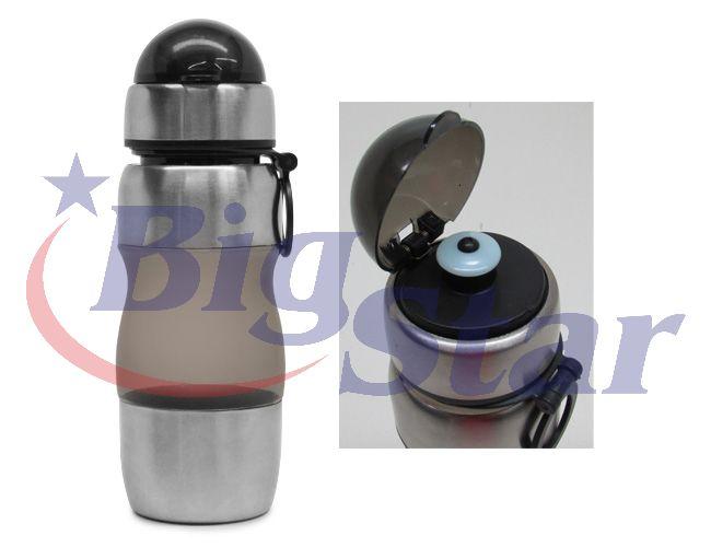 Imagem do produto: Squeeze 450ml com detalhes em inox BIG 1798 B