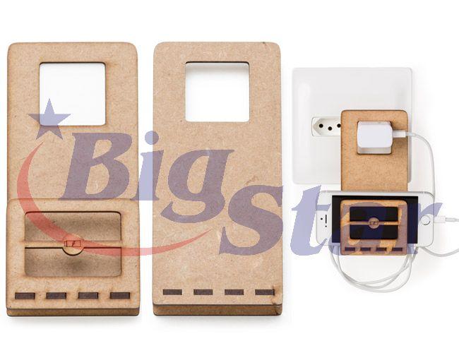 Suporte para carregar celular em MDF BIG 2324